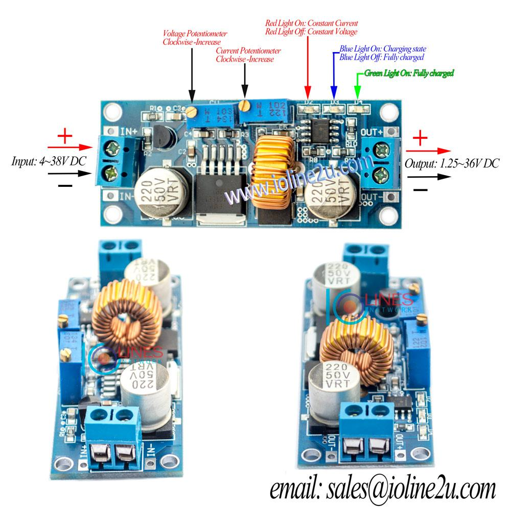 5a Dc Adjustable Current Voltage St End 10 18 2016 915 Pm To Converter Step Down Battery Charger