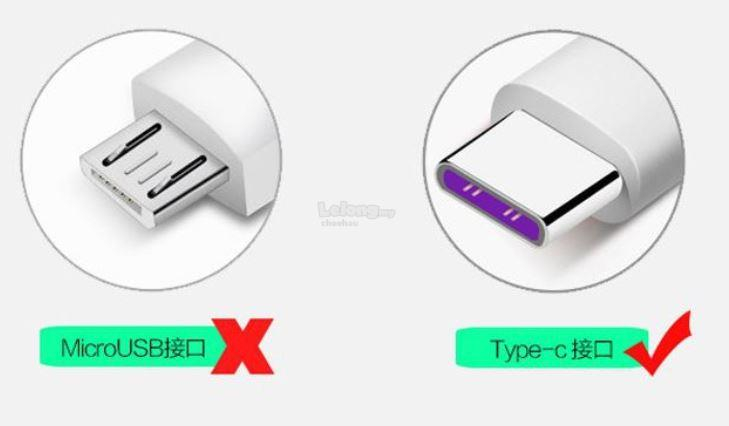 5A USB Type-c Cable SuperCharge Cable (1 Meter)华为&#21407..