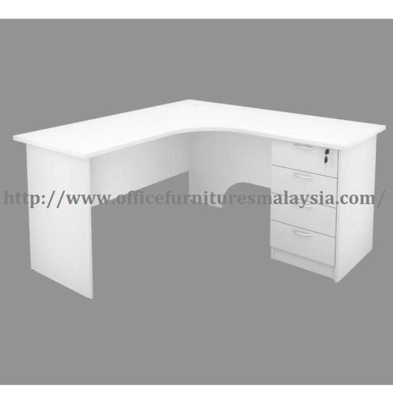 Ft X Ft White Office Table Desk L End PM - 4 ft office table