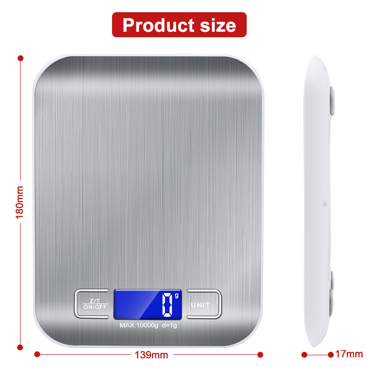 5kg/1g Accurate Electric High Precision Kitchen Scale Weighing Scale