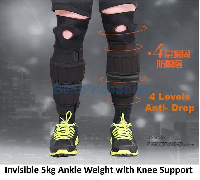 5kg Adjustable & Invisible Ankle Weig (end 3/8/2019 5:47 PM
