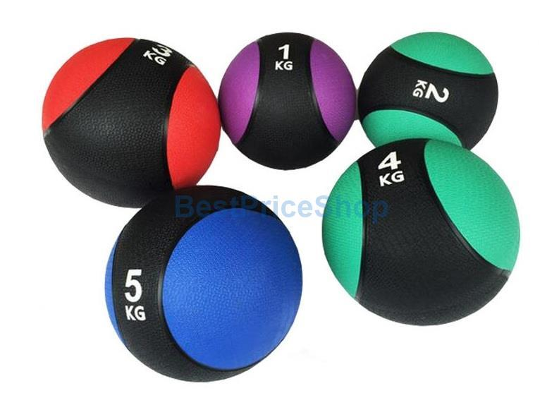 5kg Rubber Gravity Fitness Exercise Medicine Ball Gym Muscle Balls