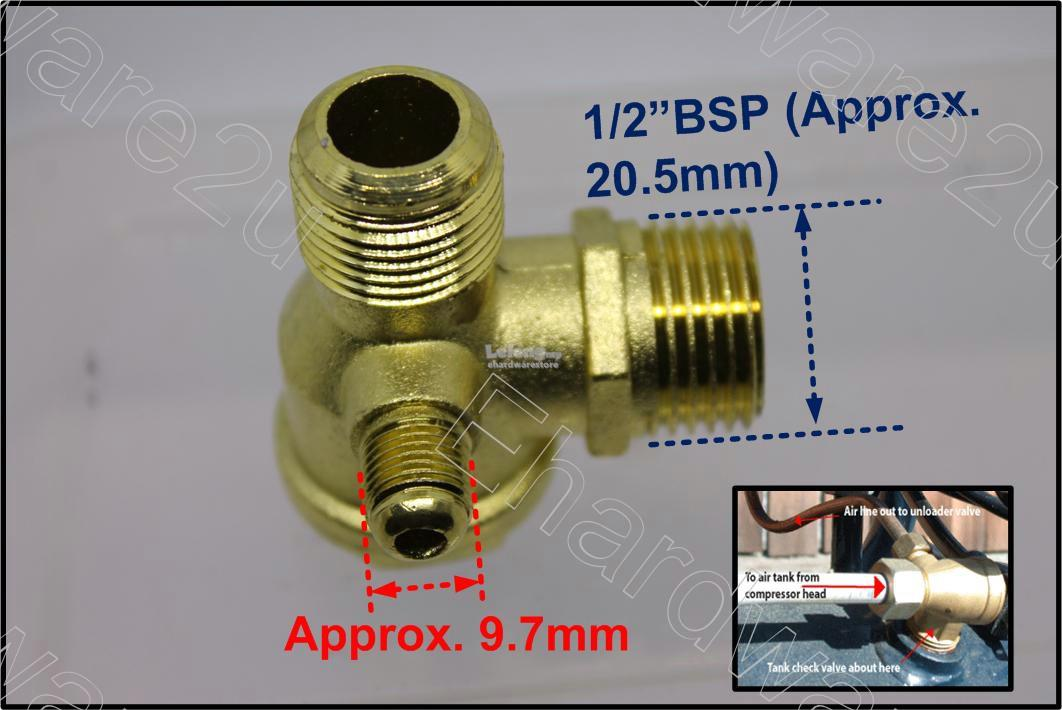 5KW Air Compressor Check Valve Replacement Part (CV040401M)