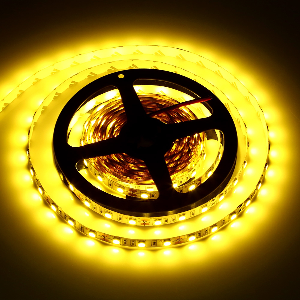 5M 300 LEDS SMD 5050 FLEXIBLE STRIP LIGHT FOR DECORATION (WARM WHITE LIGHT, US