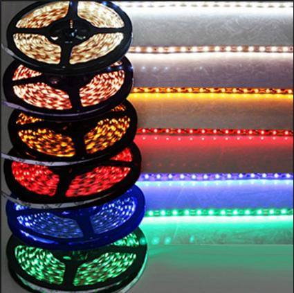 5Meter 300 LEDs 3528 Flexible LED Strip Light Non-Waterproof DC 12V