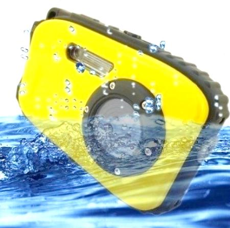 5MP Waterproof Digital Camera (DG-02).