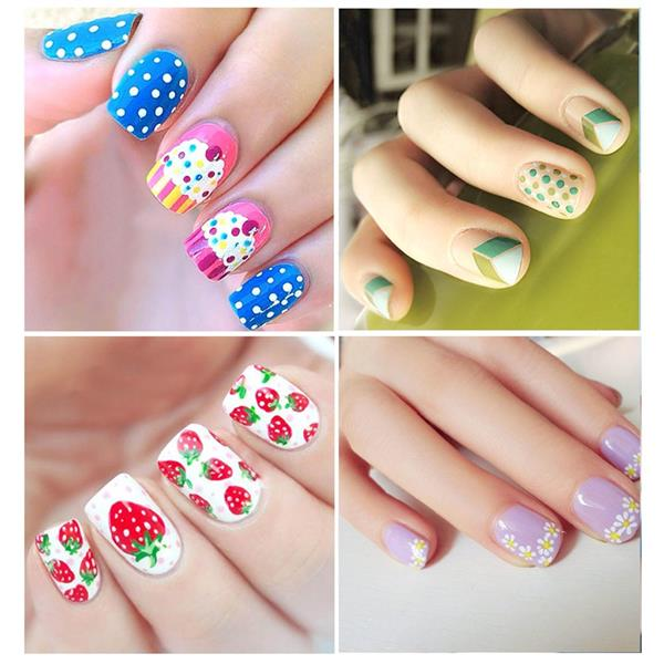 5pcs 2 Ways Dotting Pens Nail Art Pai End 952017 915 Am