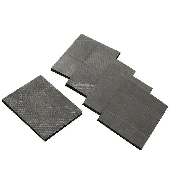 5pcs 50x40x3mm Pure Graphite Plate Sheet