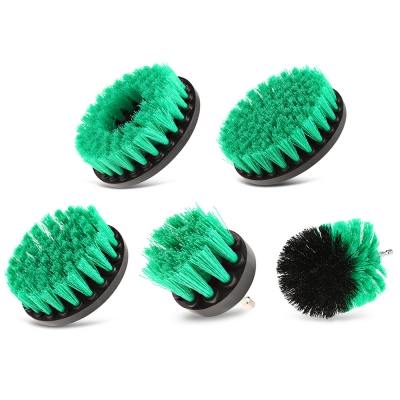 5PCS Electric Drill Cleaning Nylon Brush