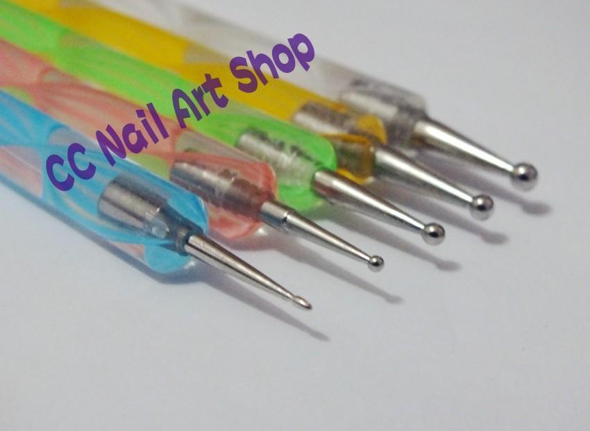 5pcsset Nail Art Dotting Tool Set D End 4262017 935 Am