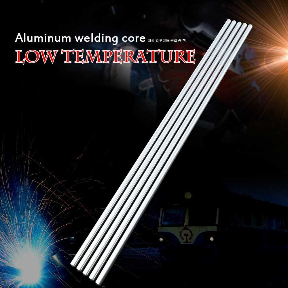5PCS Low Temperature Aluminum Welding Wire Flux Cored 2.0mm*230mm Al-Mg Solder