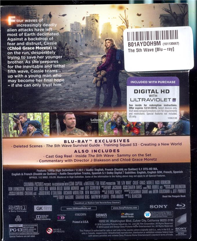 The 5th Wave - New Blu-Ray