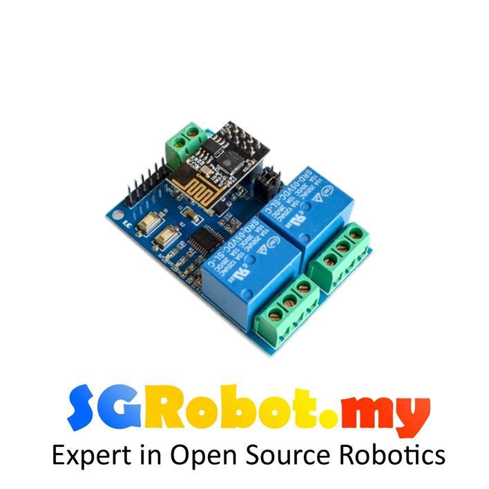 5V 2-Channel WIFI Relay Module ESP8266 IOT APP Controller