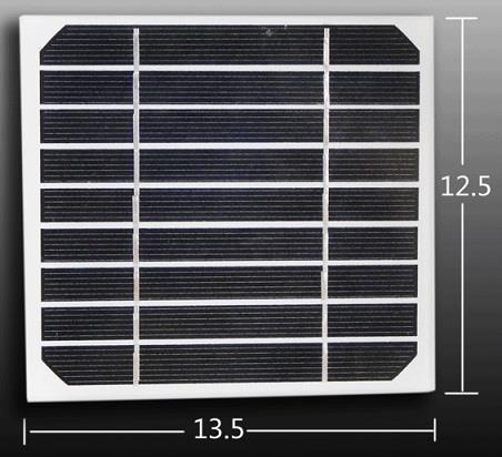5V Solar Panel 2.5W with USB Connection