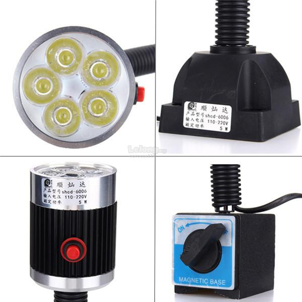 5W 110-220V 500mm LED Lamp Magnetic Fixed Base Aluminum Alloy Working Tool for C