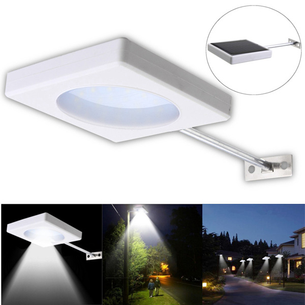 5W LED Solar Power Wall Light Waterproof Outdoor Street Garden Lamp
