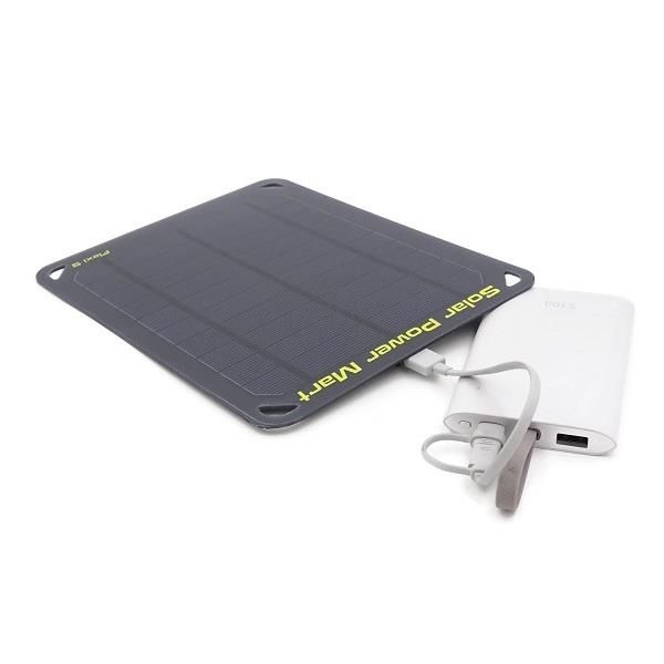 5Wp Flexi Emergency Portable 5 USB Solar Power Charger Panel