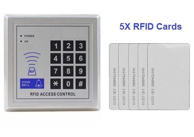 5X Free Wireless RFID Cards + Door Lock Access Control