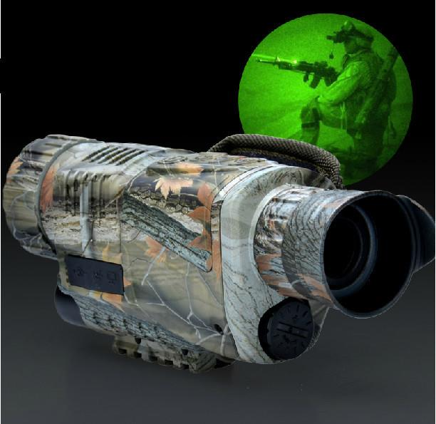 5x40 Night Vision Monocular With Recording (WP-IR540C).