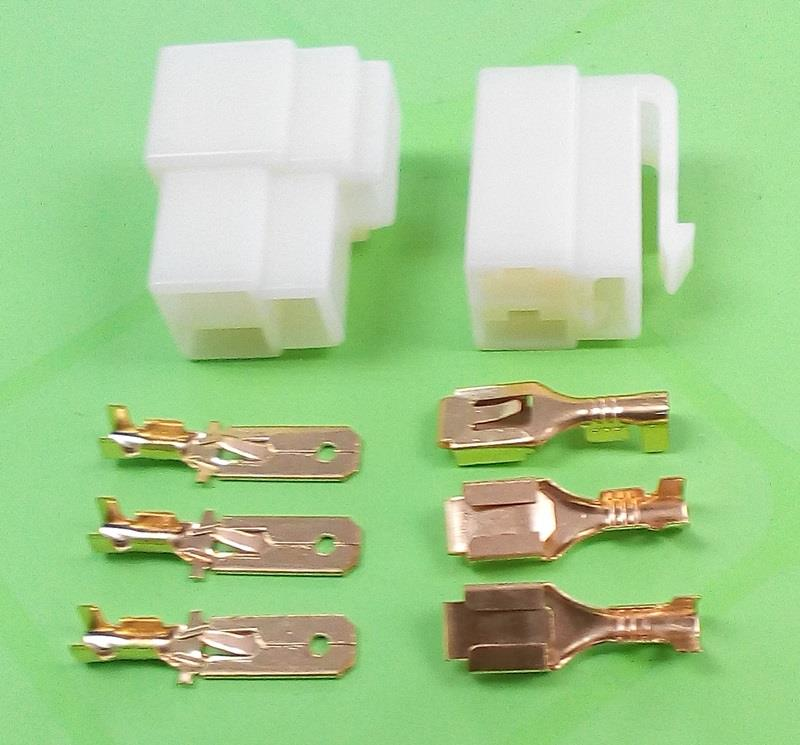 6.3mm 3 way Electrical Connector/T (end 12/26/2020 12:00 AM)