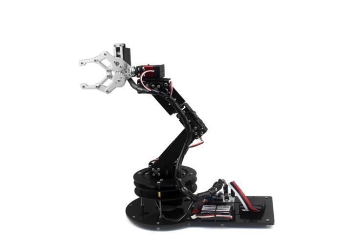 Dof robot arm set robotics hand end  pm