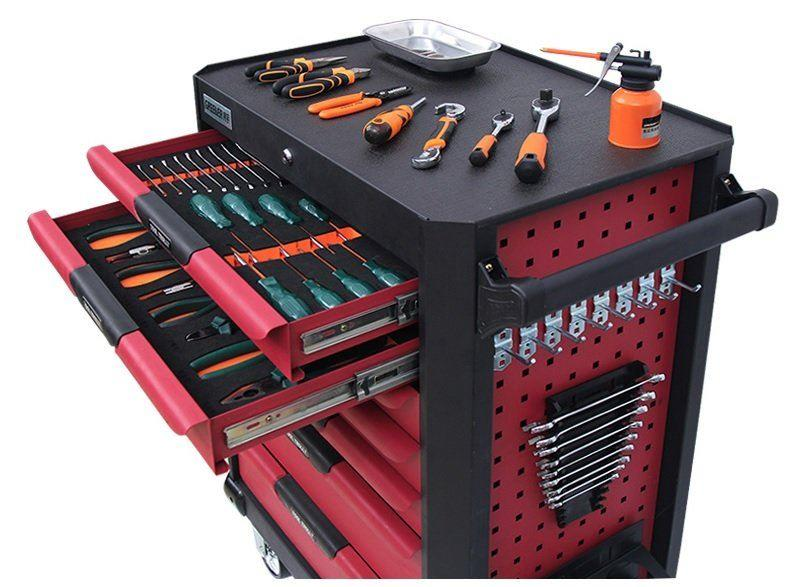 6 Drawer Tool Cart With 188pcs Tools ID31626