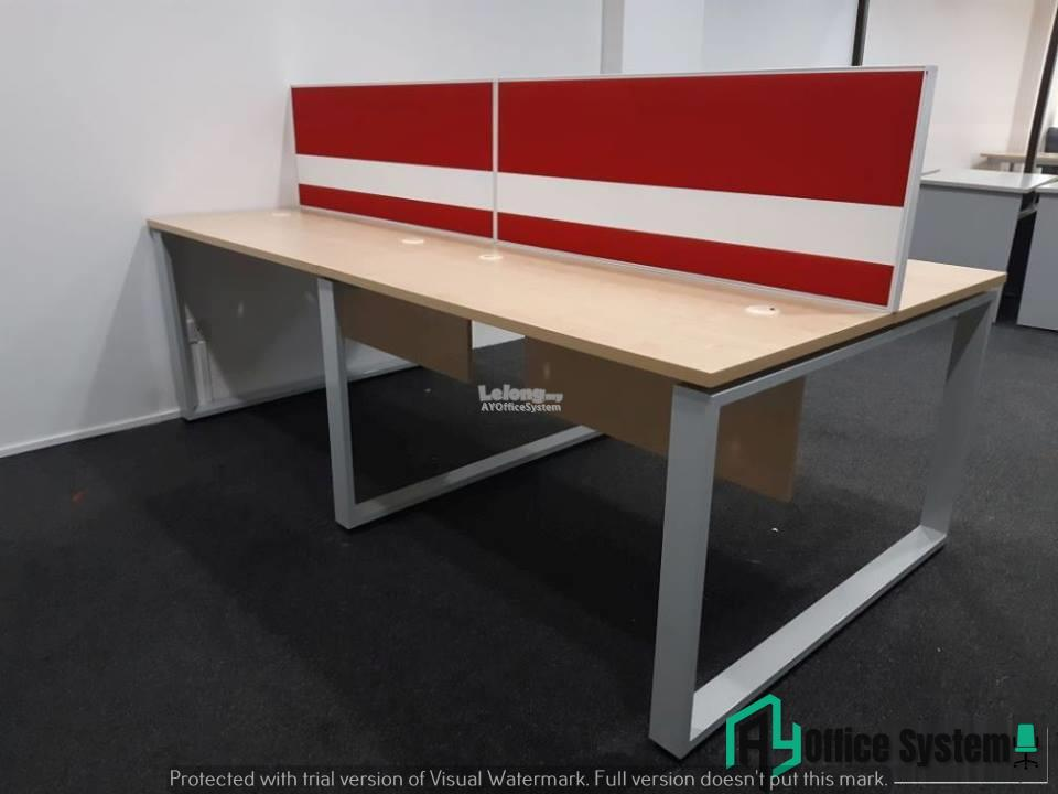 6 Feet Rectangular Shape Office Table Partition Workstation - R 12