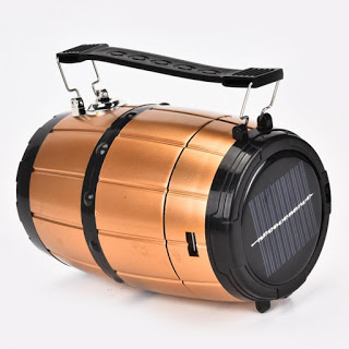 6 LED + 1W ZJ-519 Retractable Camping Tent Solar Lantern Outdoor Port