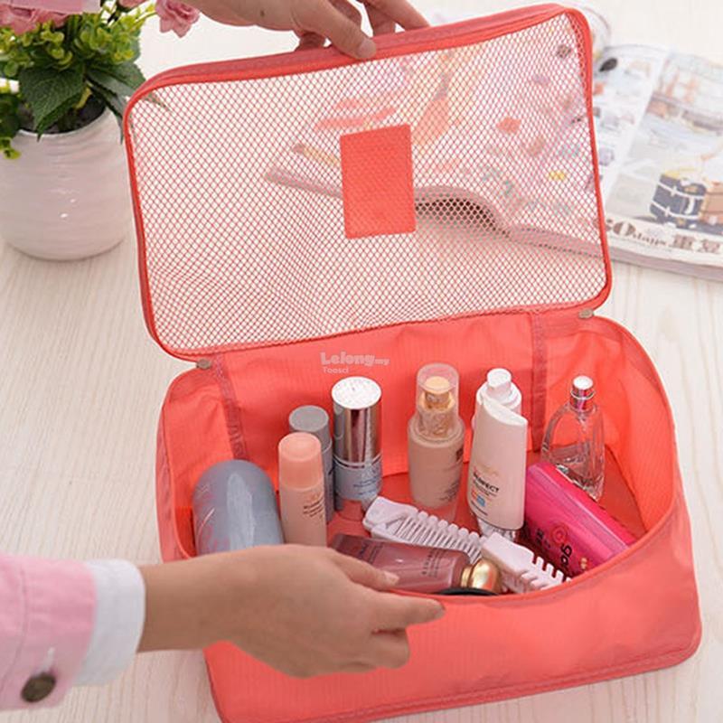 6 pcs Waterproof Travel Suit Storage Bags Luggage Pouch Storage Bag 5e686c6d674f7
