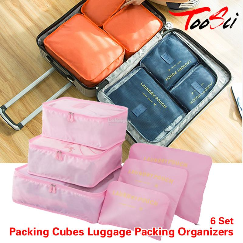 6 pcs Waterproof Travel Suit Storage Bags Luggage Pouch Storage Bag. ‹ › 1af0f22ad48ce