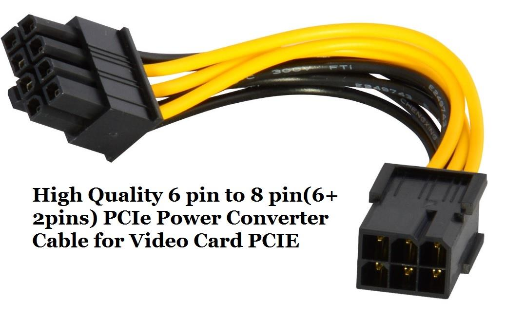 6-Pin F to M 8-Pin PCI E Power Cabl (end 3/27/2019 12:11 AM)