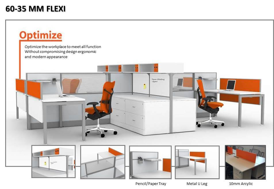 60-35MM FLEXI WORKSTATION