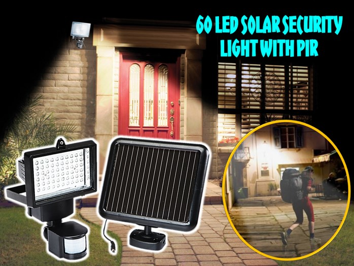 60 led solar sensor security light end 12142019 1246 pm 60 led solar sensor security light aloadofball Choice Image