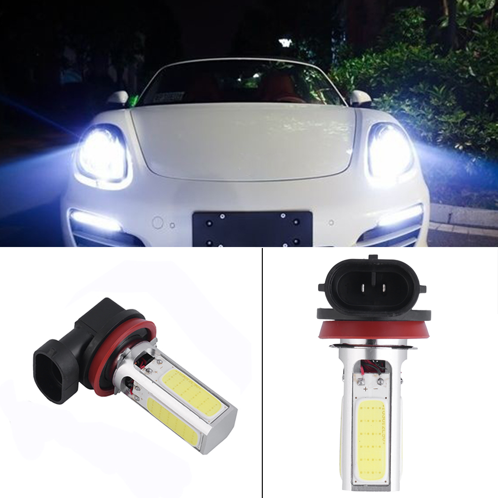 6000K High Power H8 H11 COB LED Fog Driving Headlight Light Bulb White