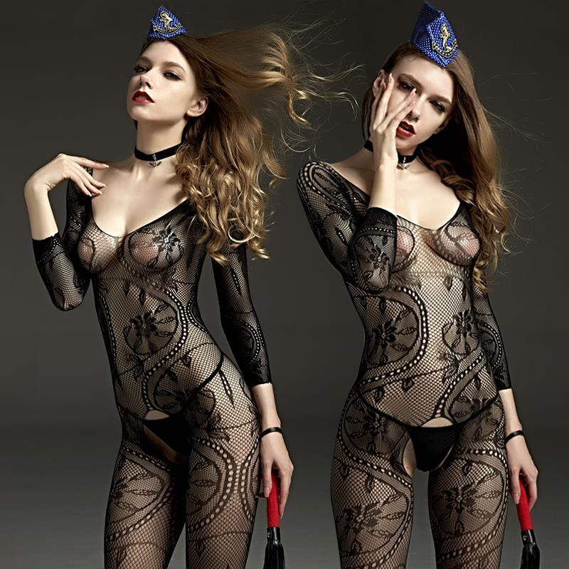606A RIMES SEXY BODY STOCKING CATSUIT (Sexy Lingerie Cosplay)