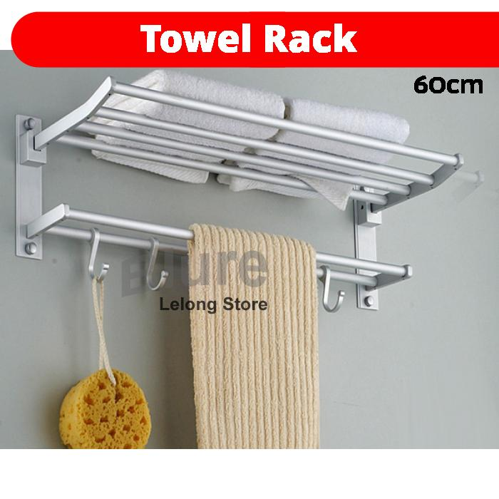 60cm Aluminum Bathroom Towel Hook Ho End 422021 1200 Am