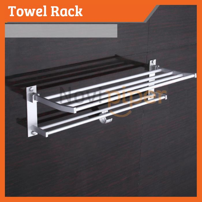 60cm Aluminum Bathroom Towel Hook H End 1022020 1238 Am