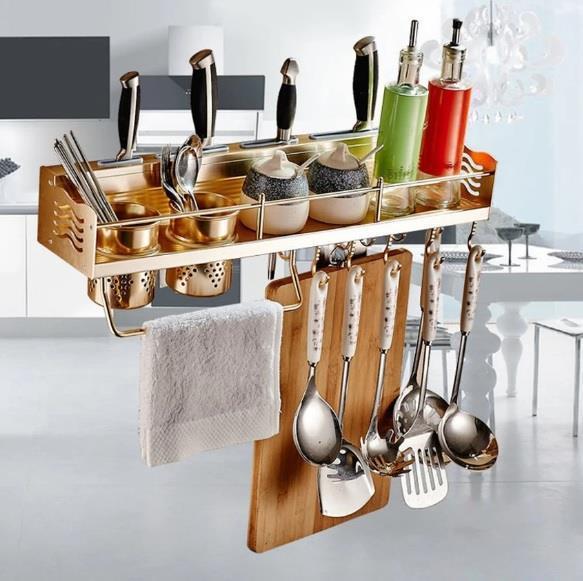 60cm Premium Aluminium Kitchen Storage And Organizer Rack. U2039 U203a