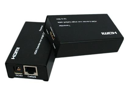 60m HDMI Extender Over By Single Cat5e/6 Cable Support 3D