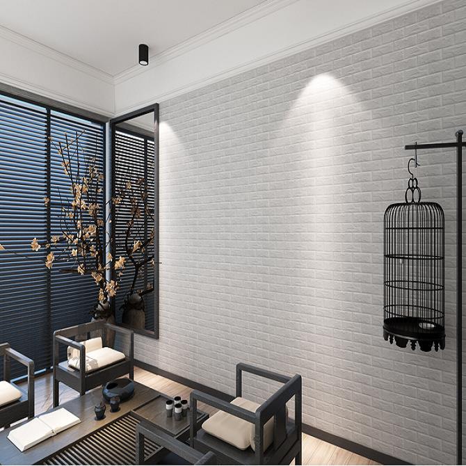 60x60cm PE Foam 3D Wall Stickers Home Decor Wallpaper. U2039 U203a