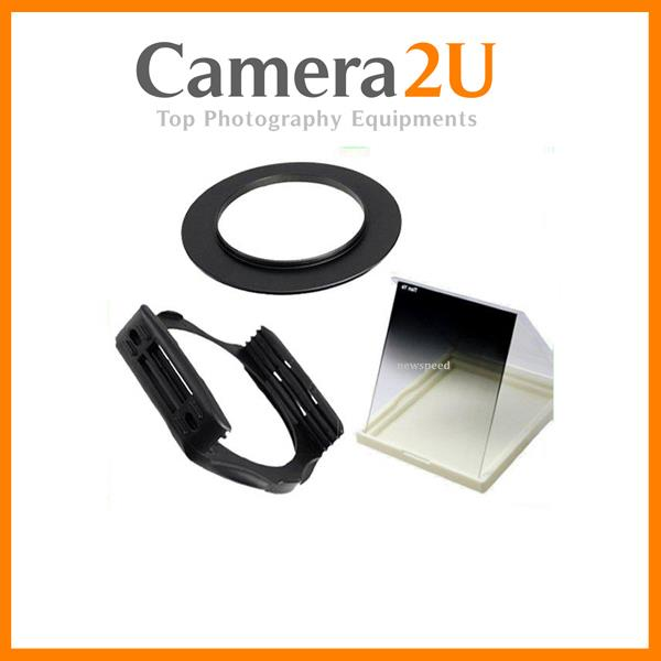 62mm SET Tianya Graduated Grey Color Square Filter for Cokin P Series