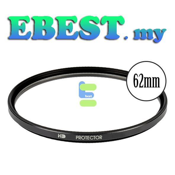 62MM Super Slim High Performance UV Protection Lens Filters