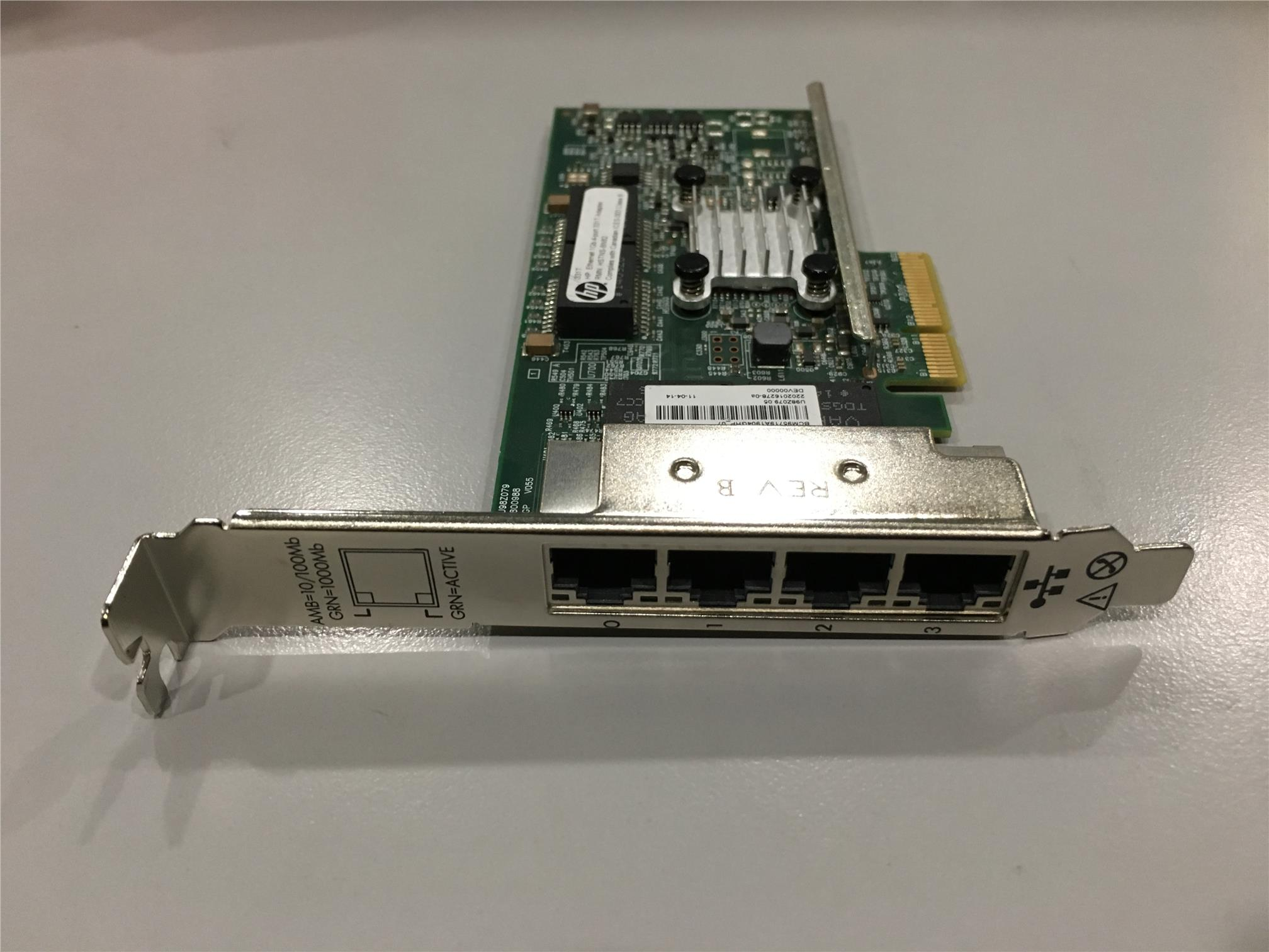 647594-B21 649871-001 647592-001 HP ETHERNET 1GB 4-PORT 331T ADAPTER