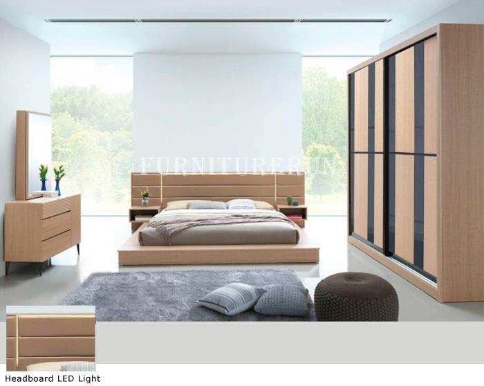 655 Divan Queen Modern Japanese Bedroom Set
