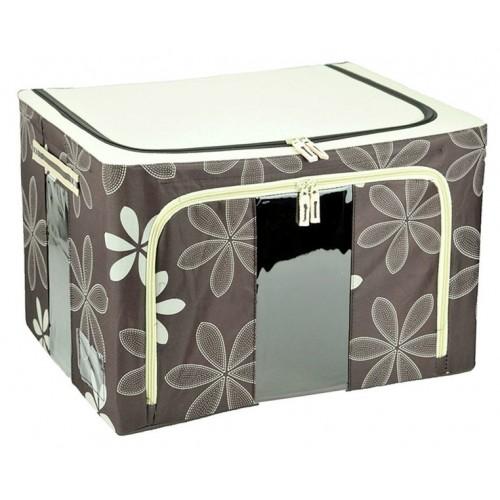 66L Durable Waterproof Double Window Storage Box. U2039 U203a