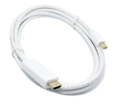 6ft 1.8m Mini Displayport to HDMI Male Adapter Cable