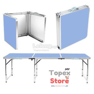 6FT Aluminium Easy Folding Table (BLUE)
