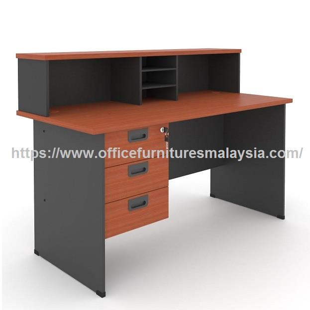 6ft Modern Design Small Office Reception Counter OFRCG1800 Subang KL