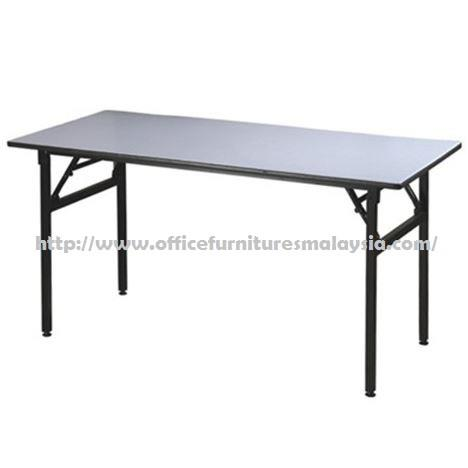 6ft x 2ft Rectangular Folding Banquet Table OFM1860 wangsa maju