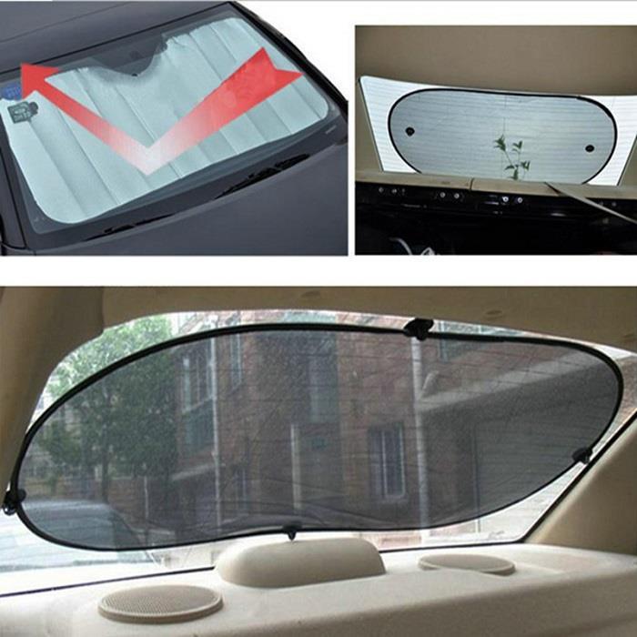 6pcs Car Window Sun Shade Windshield Visor Cover Block Front Window Si d93c216c801
